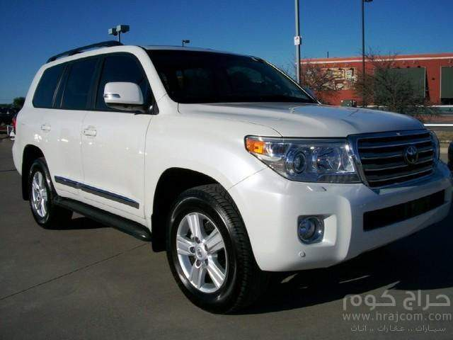SALE:- 2013 TOYOTA LAND CRUISER V8
