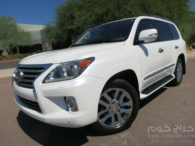 BUY LEXUS LX SERIES 570 USED