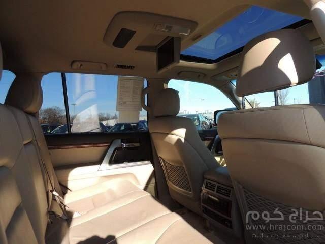 لاند كروزر 2014 عائلية 7 مقاعد سيارة
