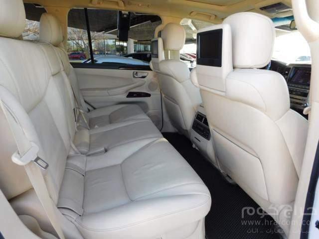 لكزس LX 570 2014 ، كامل المواصفات ، سيارة عائلية الحجم