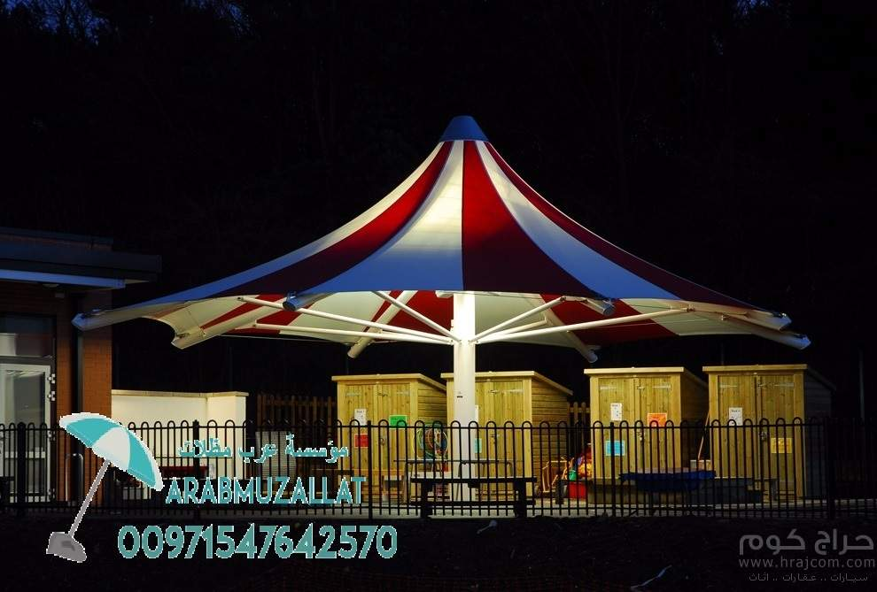 تنفيذ كافة مشاريع المظلات والسواتر 00971547642570