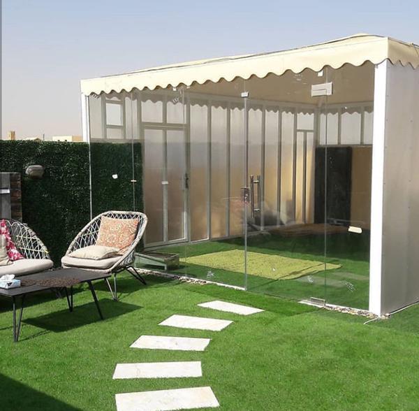 مظلات حدائق للبيع pvc ، مظلات حديد للحدائق،  مظلات خشب في الرياض بأفضل الأسعار0551113590