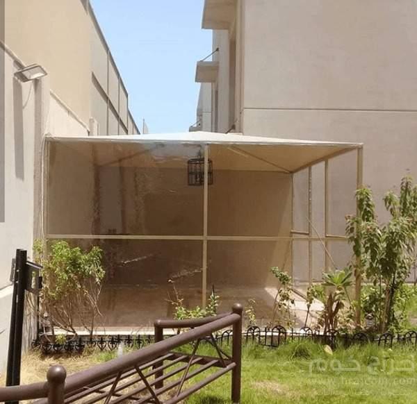 مظلات حدائق للبيع ، مظلات حديد للحدائق،  مظلات خشب صناعي ، في الرياض -0550098198