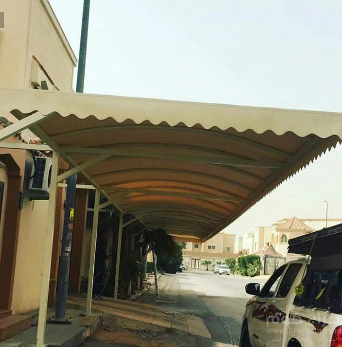 تركيب مظلات حدائق وسيارات ومسابح ومدارس وسواتر احواش وبيوت شعر بسعر رخيص