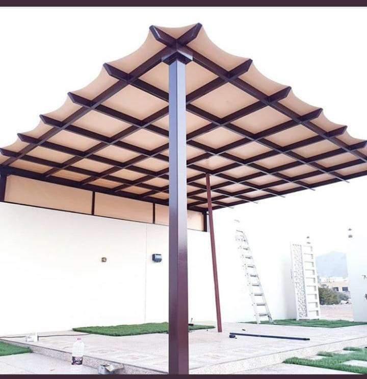 افضل انواع المظلات والسواتر الرياض - الاختيار الاول - 0553770074 - تركيب البرجولات - عروض وتخفيضات مناسبه - مظلات سيارات