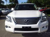 LEXUS LX 570 MODEL 2011, COLOR WHITE
