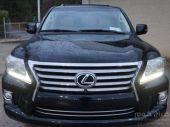 LEXUS LX 570 BLACK SUV 2013